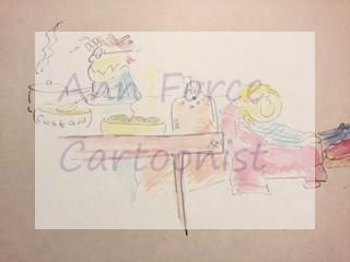 colour cartoons by Ann Force