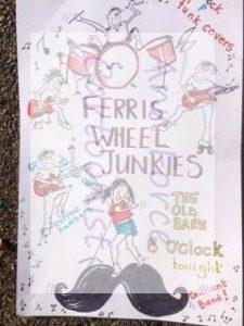 Ferris Wheel, Music cartoon art